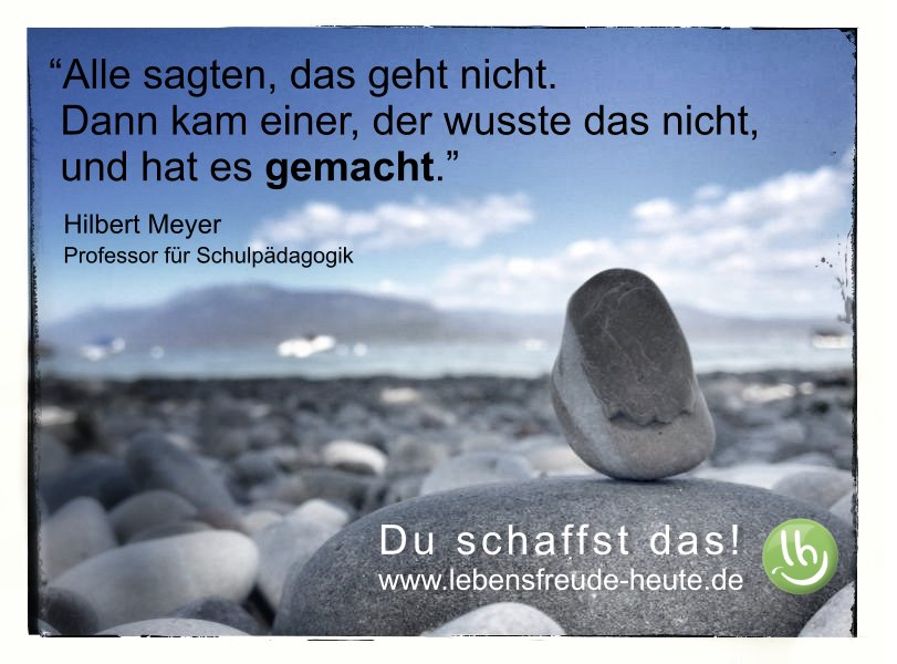 Mach es einfach! (Grußkarte / Zitat) | .lebensfreude heute.de