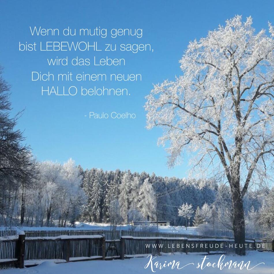 Mutig genug für ein Lebewohl? - lebensfreude-heute.de